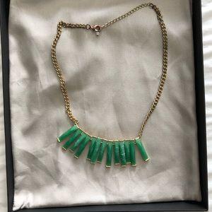 Jewelry - Emerald statement necklace